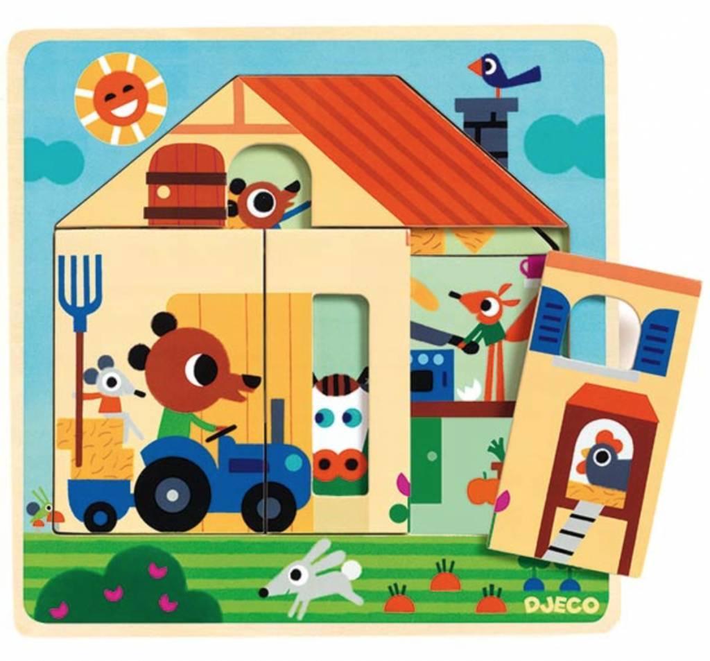 Drvene puzzle CHEZ GABY