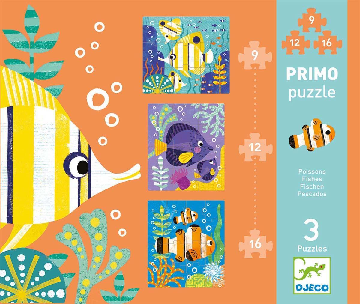 Puzzle PROGRESSIVE PUZZLE PRIMO FICSH 9/12/16 PCS