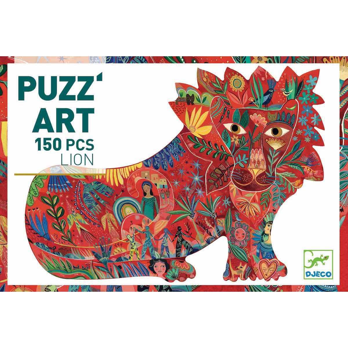 Puzzle PUZZ' ART LION FIER 150 PCES