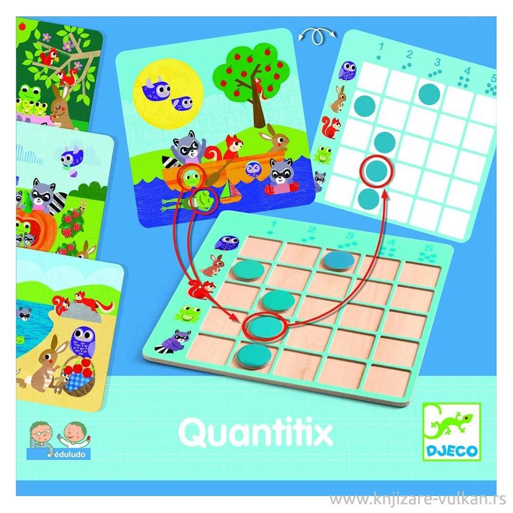 Dečija edukativna igračka QUANTITIX