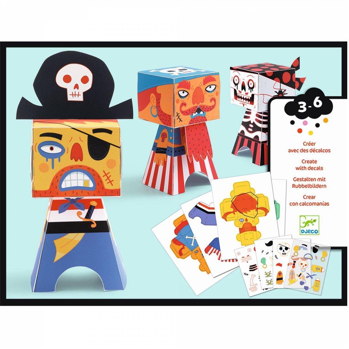 Kreativni Set ARTY PAPER PIRATE TRANSFERS