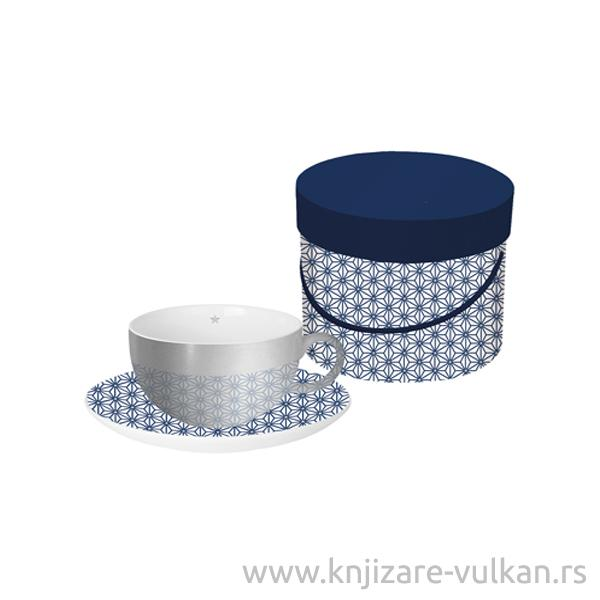 Šolja u poklon kutiji GINZA blue