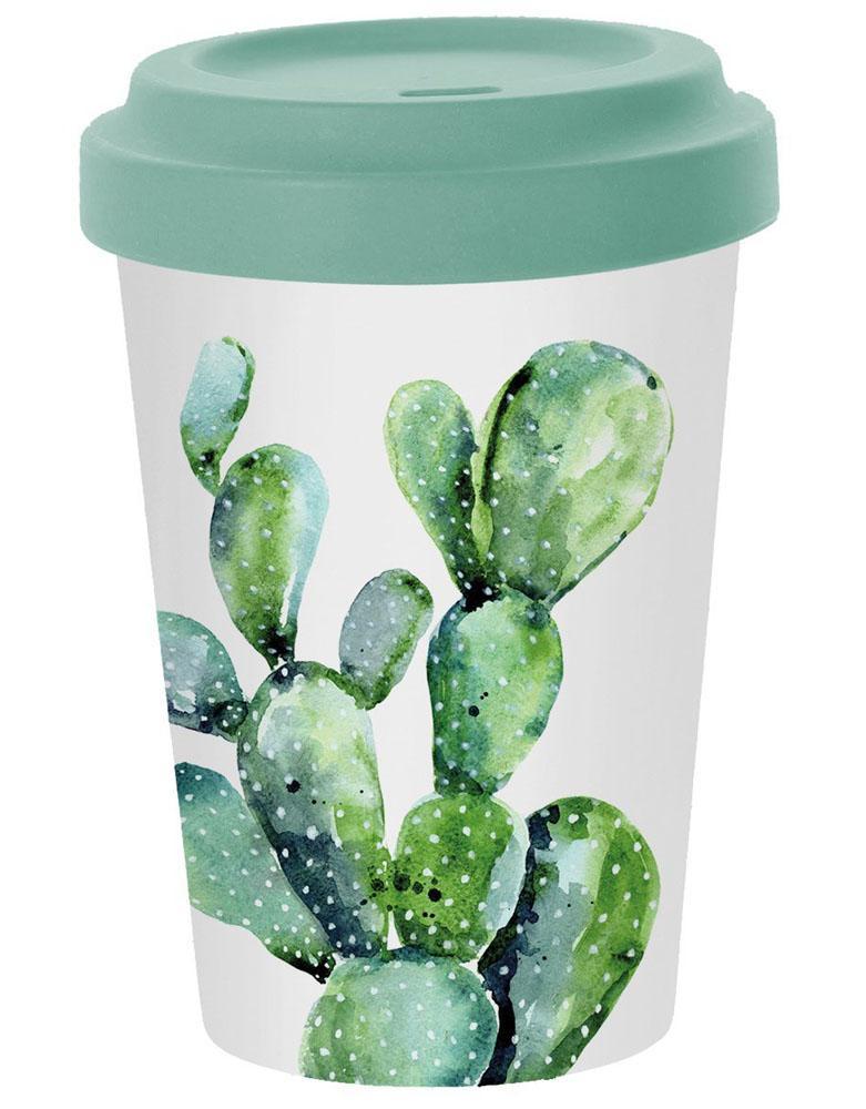 Putna šolja BAMBOO Cactus