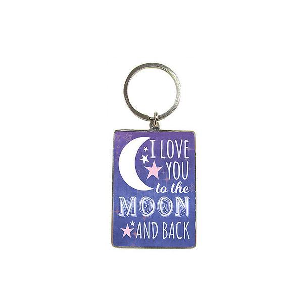 Privezak za ključeve I LOVE YOU TO THE MOON AND BACK