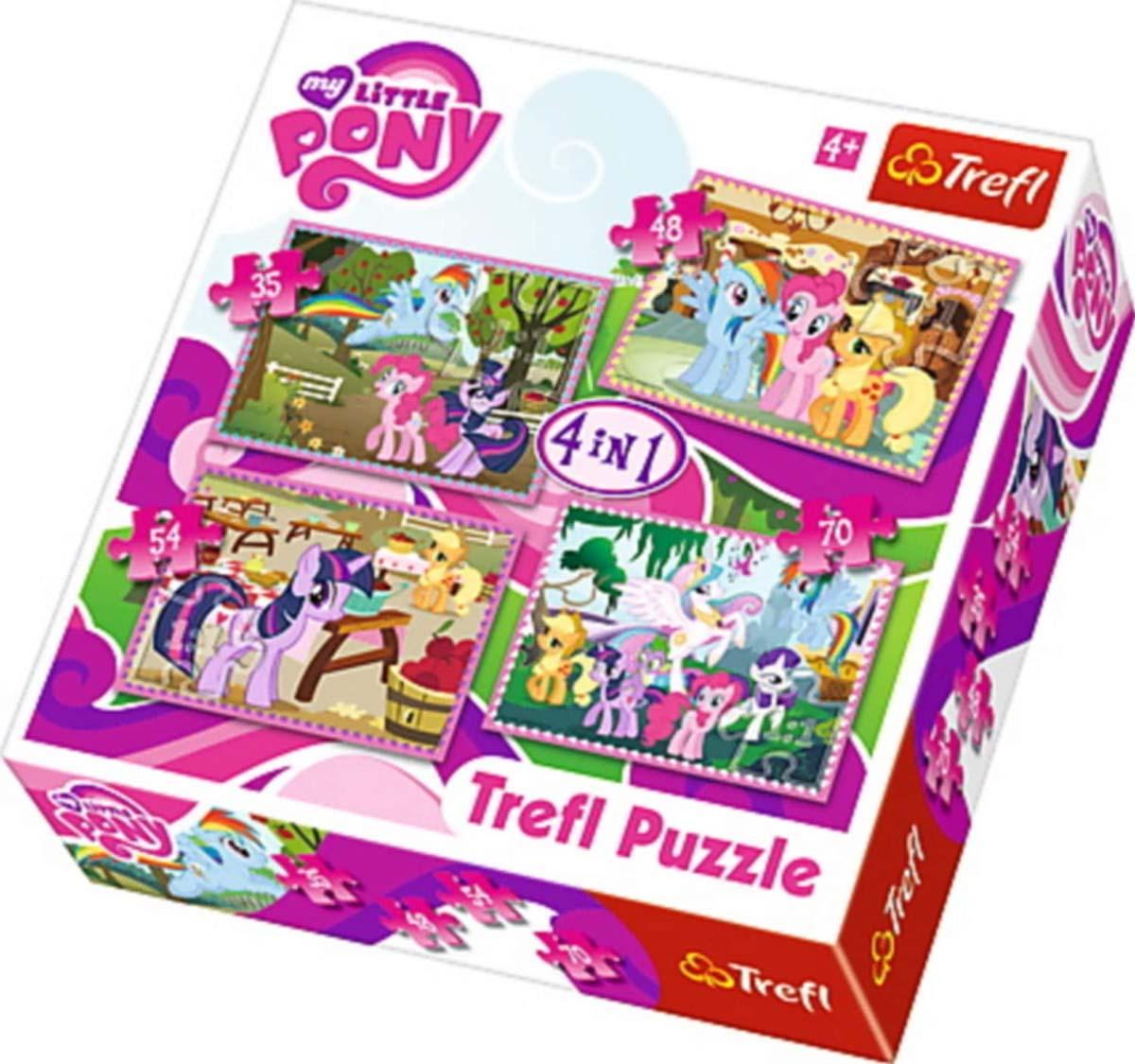 Puzzle 4 u 1 TREFL My Little Pony