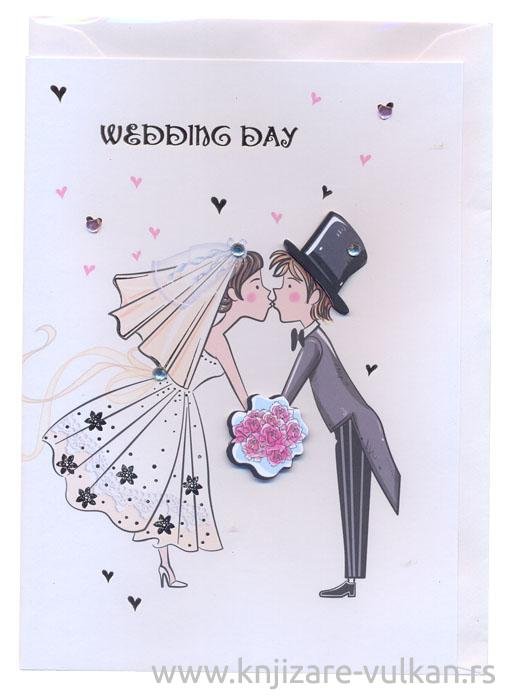 ČESTITKA WEDDING JOY