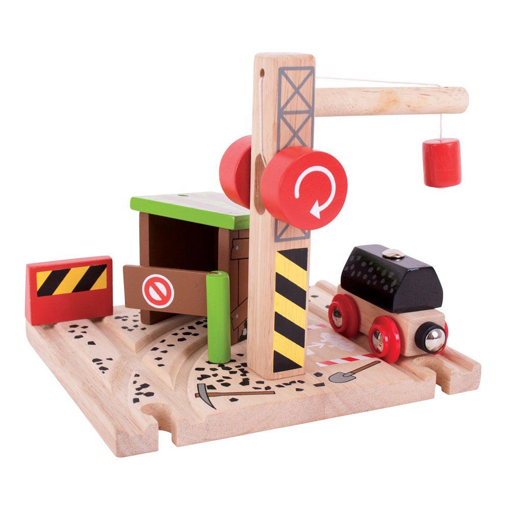Dečija drvena igračka RUDNIK UGLJA