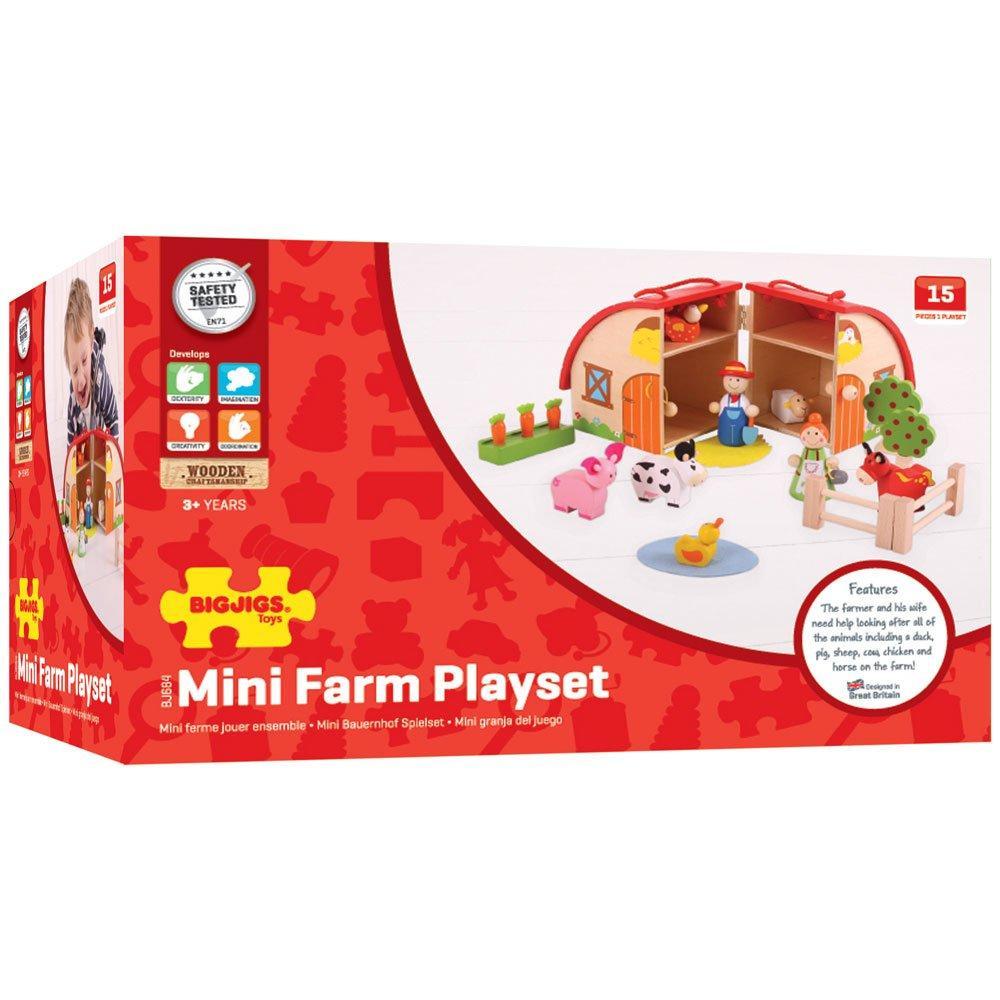 Drveni set za igranje FARMA