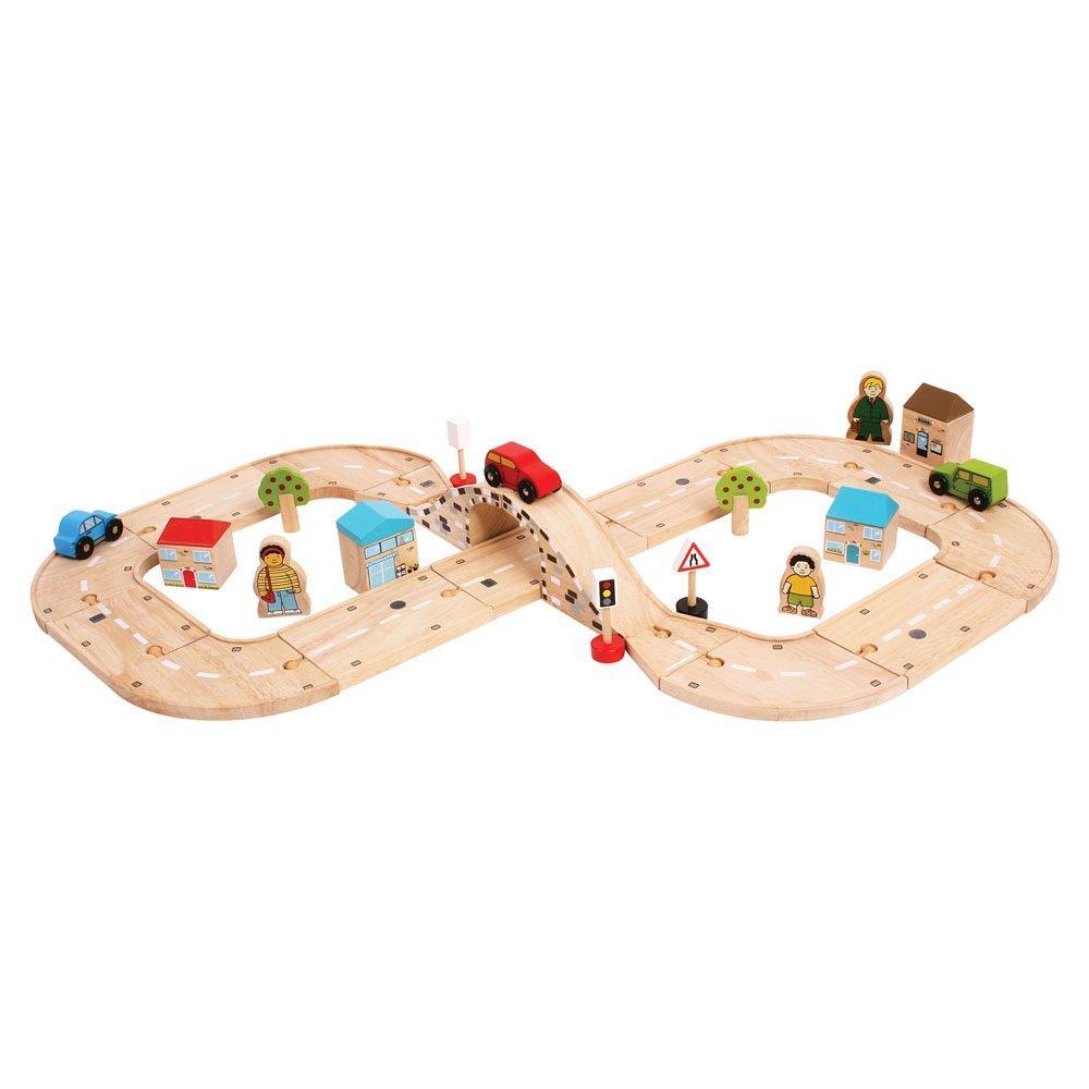 Drveni set za igranje AUTOPUT