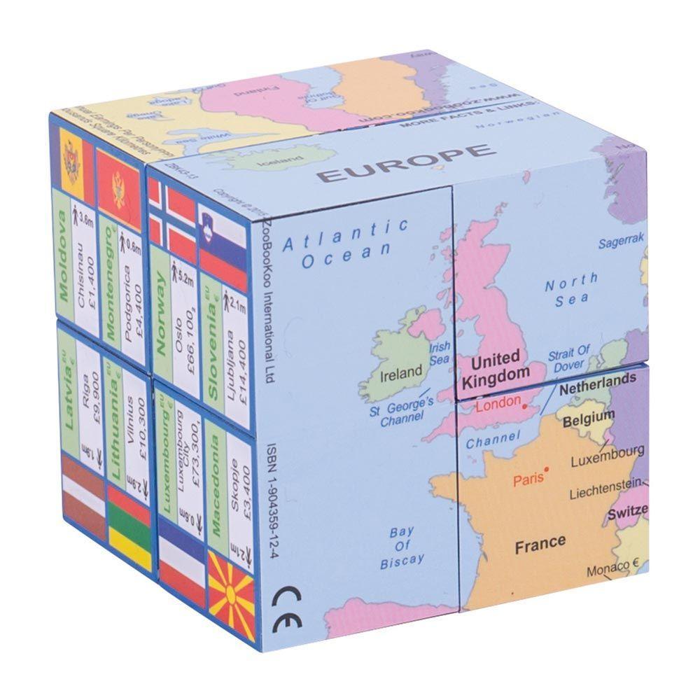 Geografska kocka EVROPA