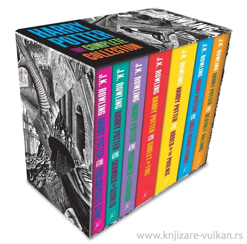 HARRY POTTER BOXED SET adult