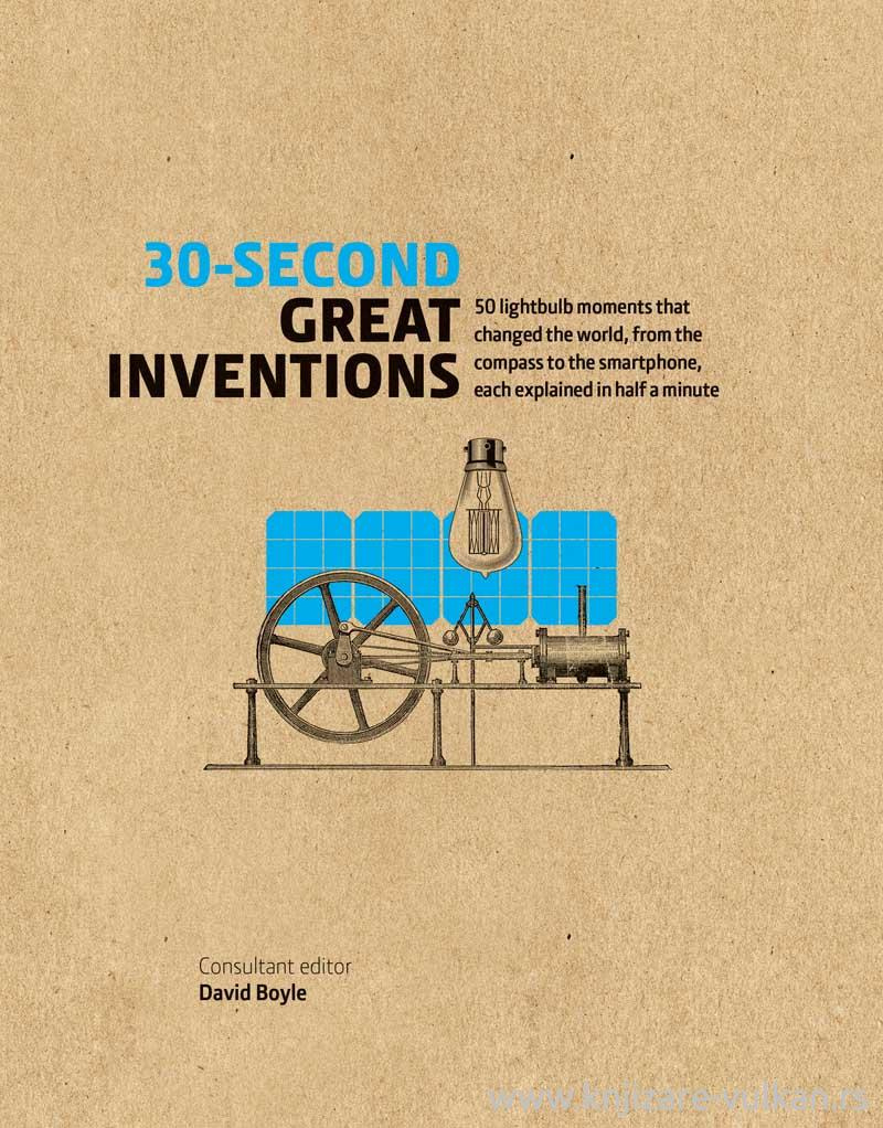 30 SECOND GREAT INVENTIONS