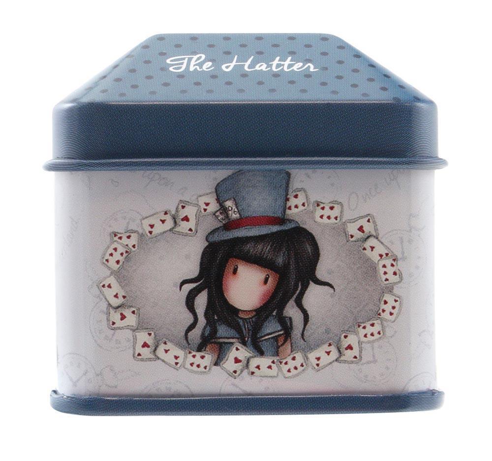 Ukrasna kutijica GORJUSS sa stikerima, The Hatter
