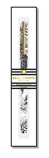 Hemijska olovka TROPICAL BLACK & WHITE