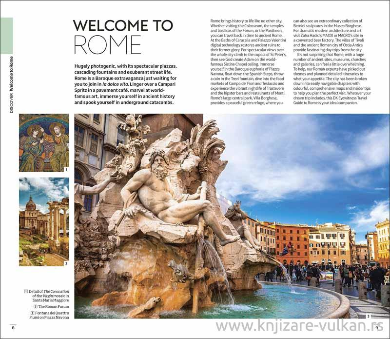 ROME EYEWITNES TRAVEL GUIDE