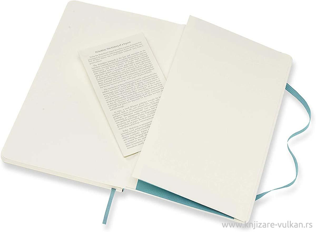 Notes CLASSIC MOLESKINE Softcover, svetlo plava