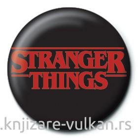Bedž STRANGER THINGS Logo