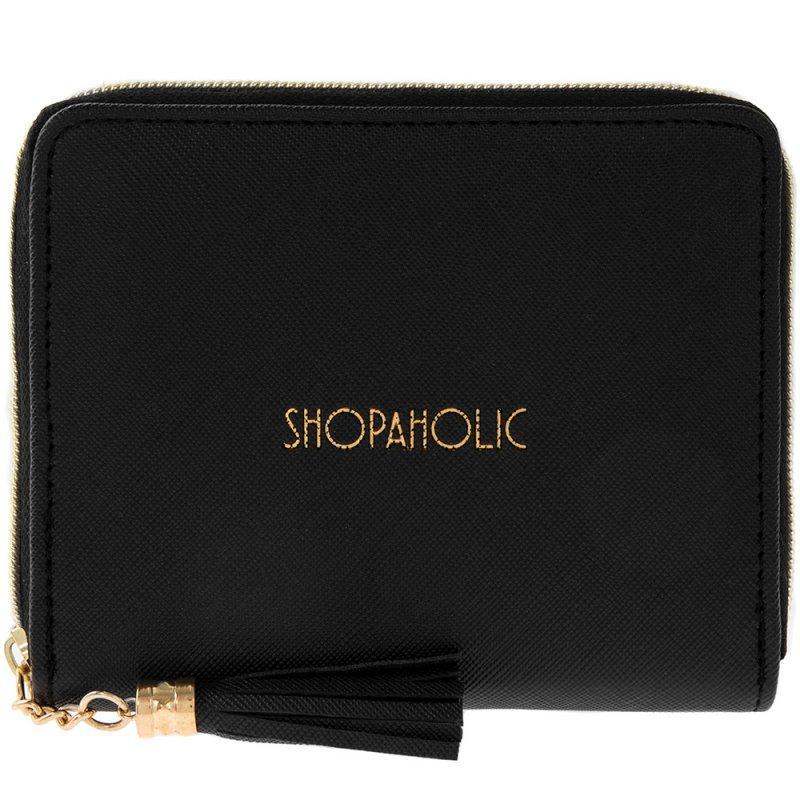 SHOPAHOLIC Novčanik crni