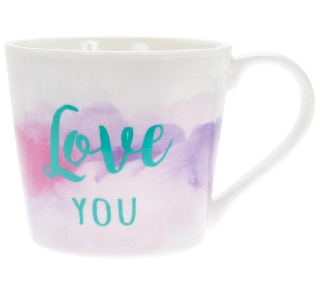 Šolja LOVE YOU Watercolour