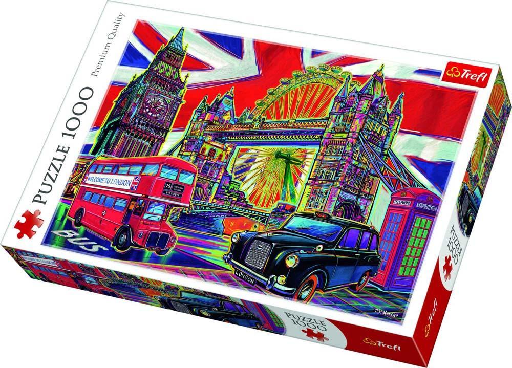 Puzzle TREFL Colours of London 1000