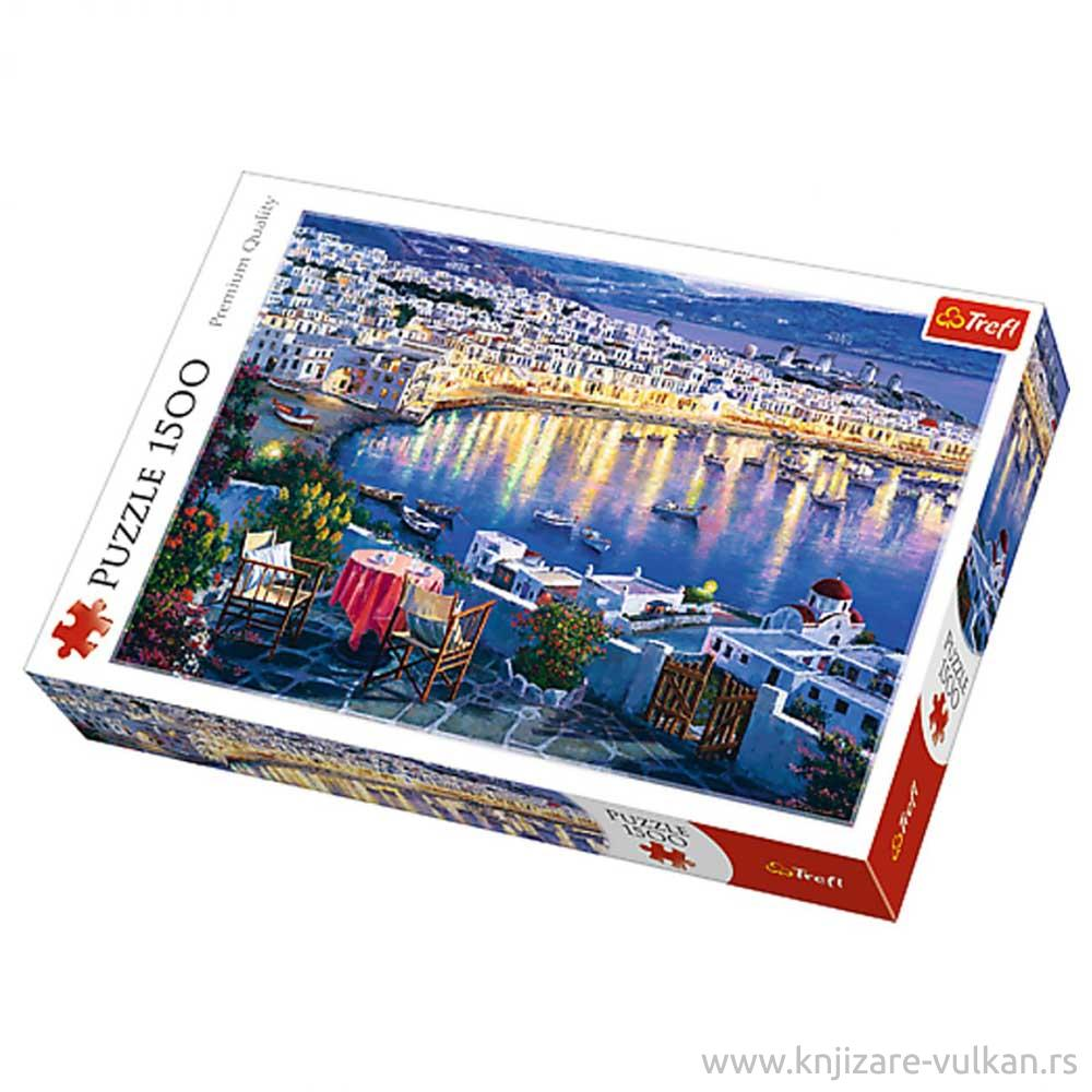 Puzzle TREFL Mykonos At Sunset 1500
