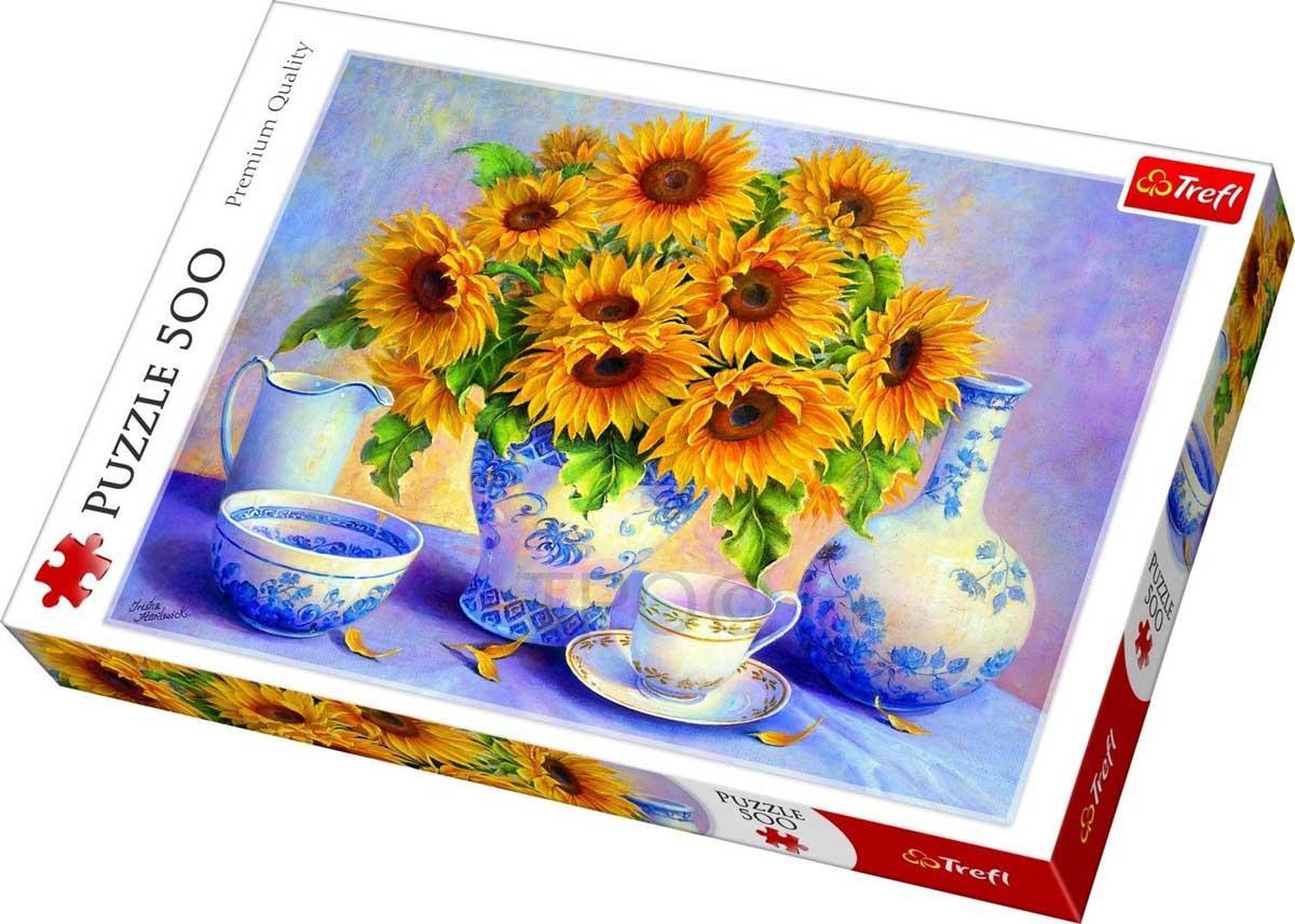 Puzzle TREFL Sunflowers 500