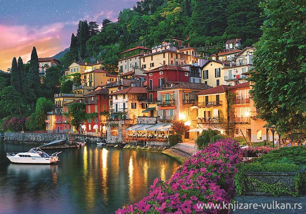 PUZZLE 500 TREFL LAKE COMO ITALY 37290