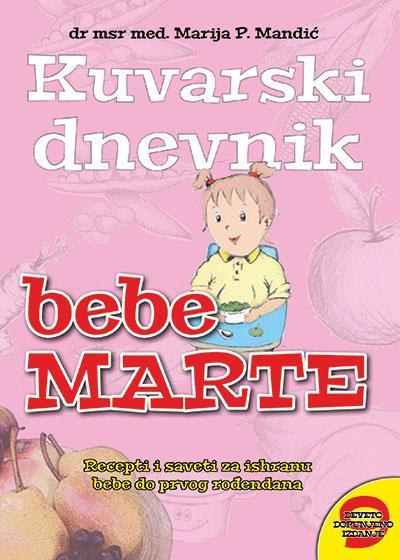 KUVARSKI DNEVNIK BEBE MARTE IX izdanje