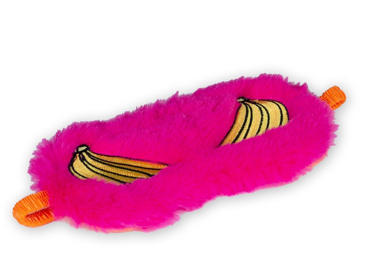 Maska za spavanje BANANA Pink