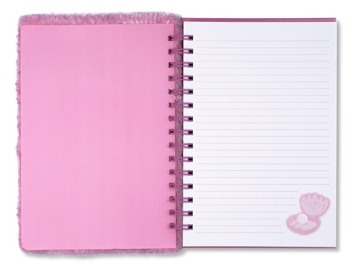 Plišani notes sa plišanom olovkom MERMAID