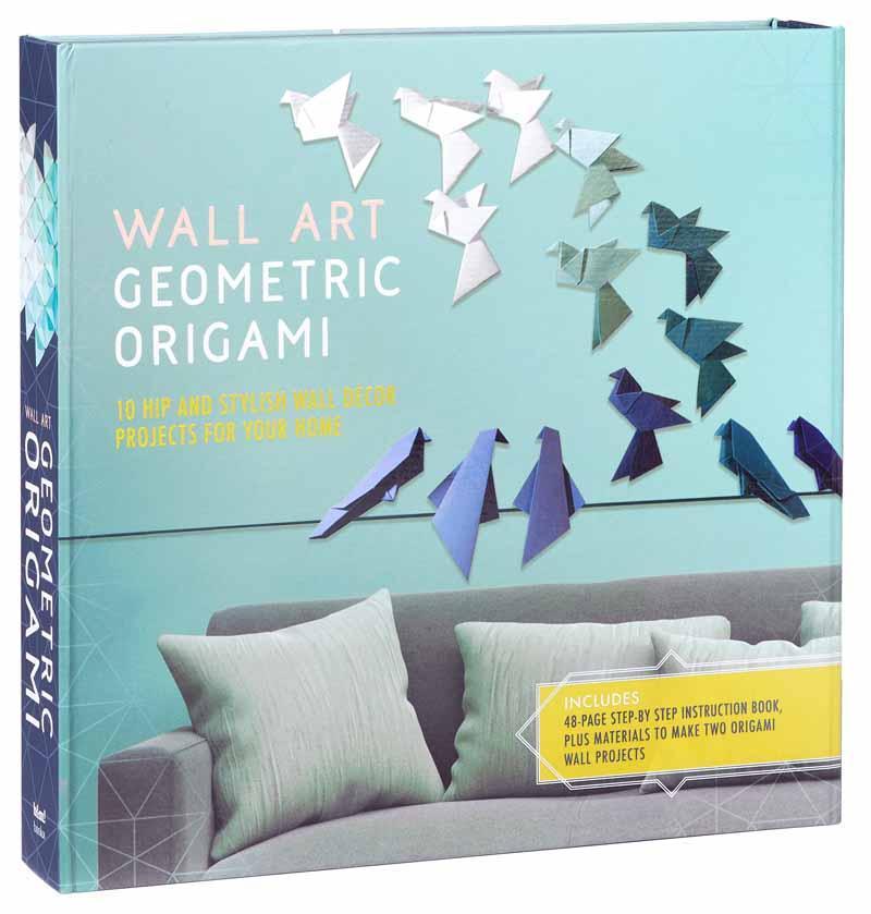 WALL ART GEOMETRIC ORIGAMI