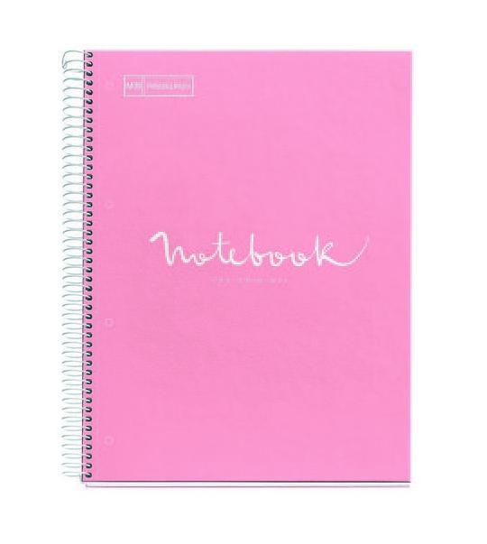 Notes A4 sa spiralom EMOTIONS Pink