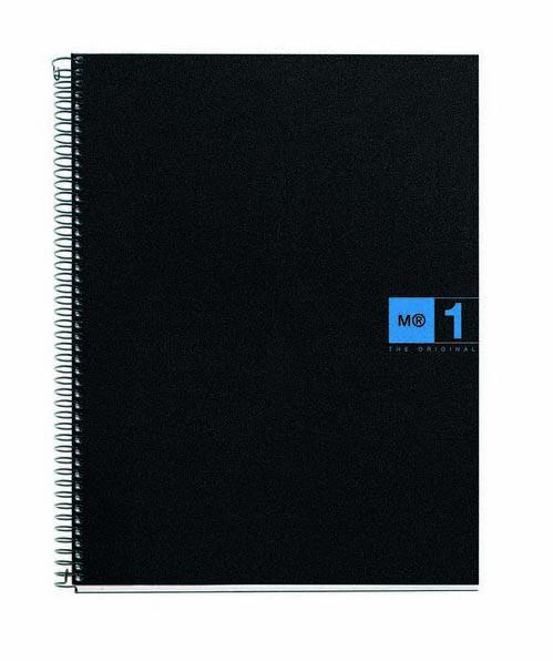 Notes A4 sa spiralom PP BLUE
