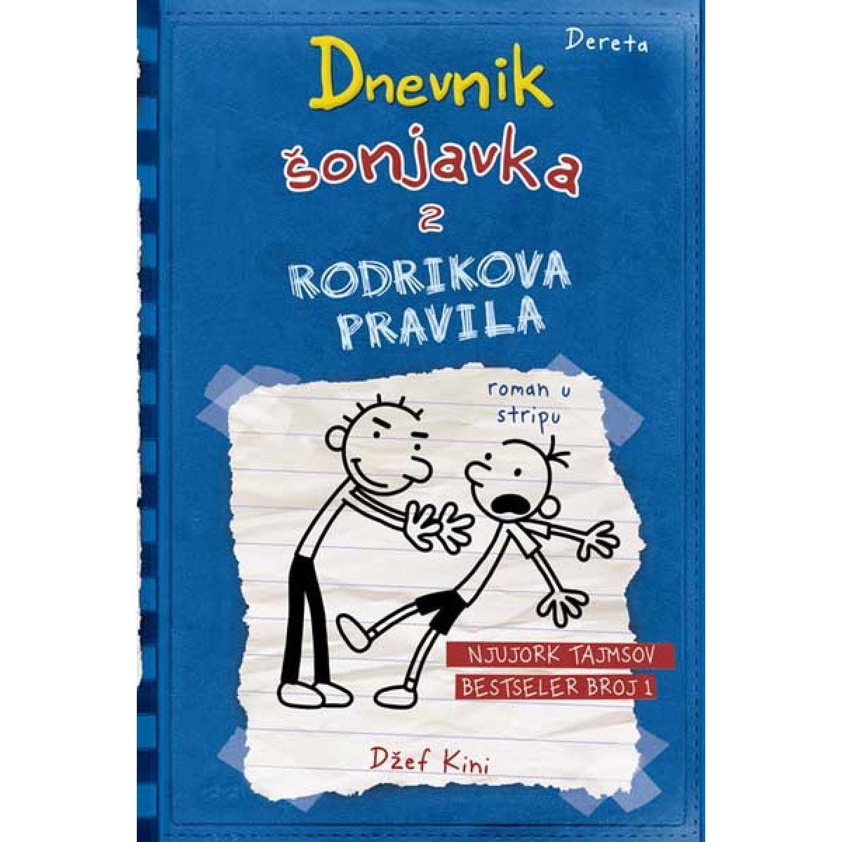 DNEVNIK ŠONJAVKA 2 Rodrikova pravila V izdanje