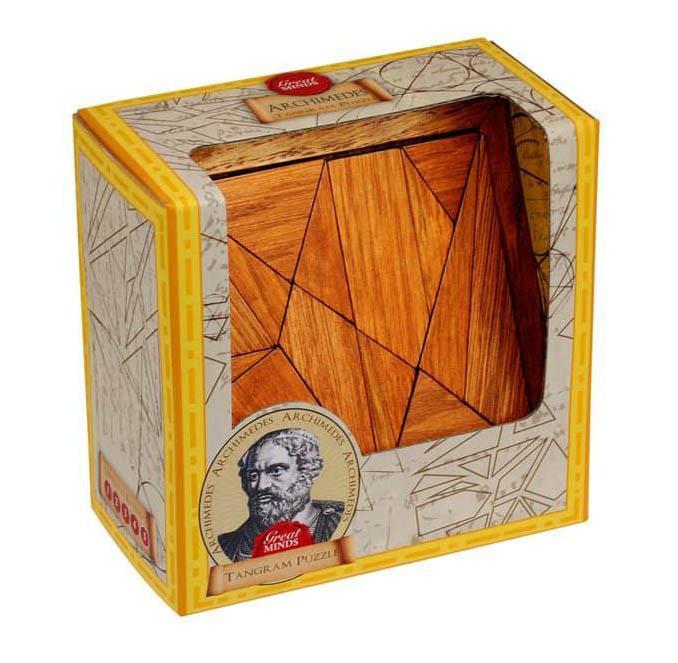 PROFESSOR PUZZLE Archimedes tangram