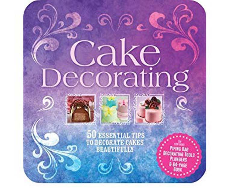 CAKE DECORATING TIN