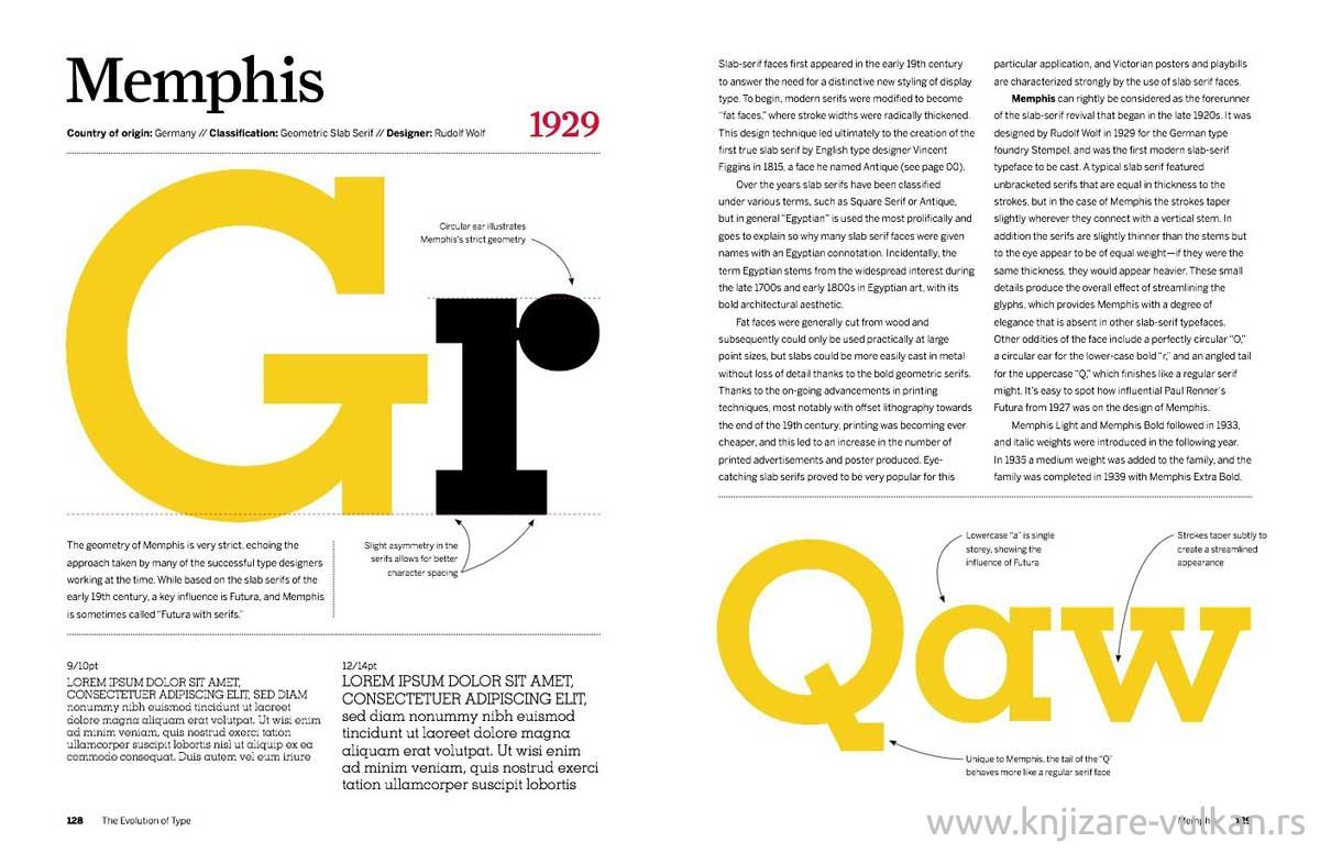 EVOLUTION OF TYPE