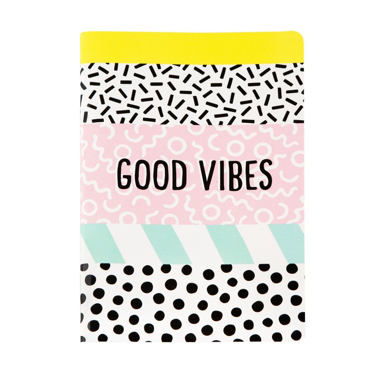Notes A5 MEMPHIS MODERN Good Vibes