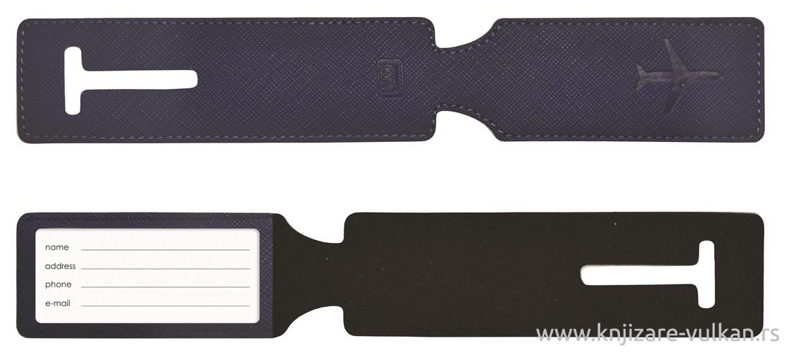 Oznaka za Prtljag LUGGAGE TAG BLUE