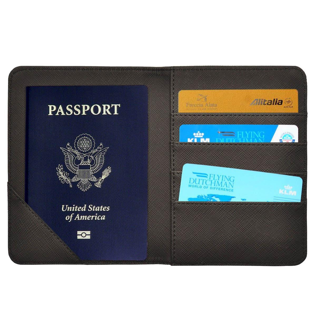 Futrola za pasoš RFID BLOCKING Black