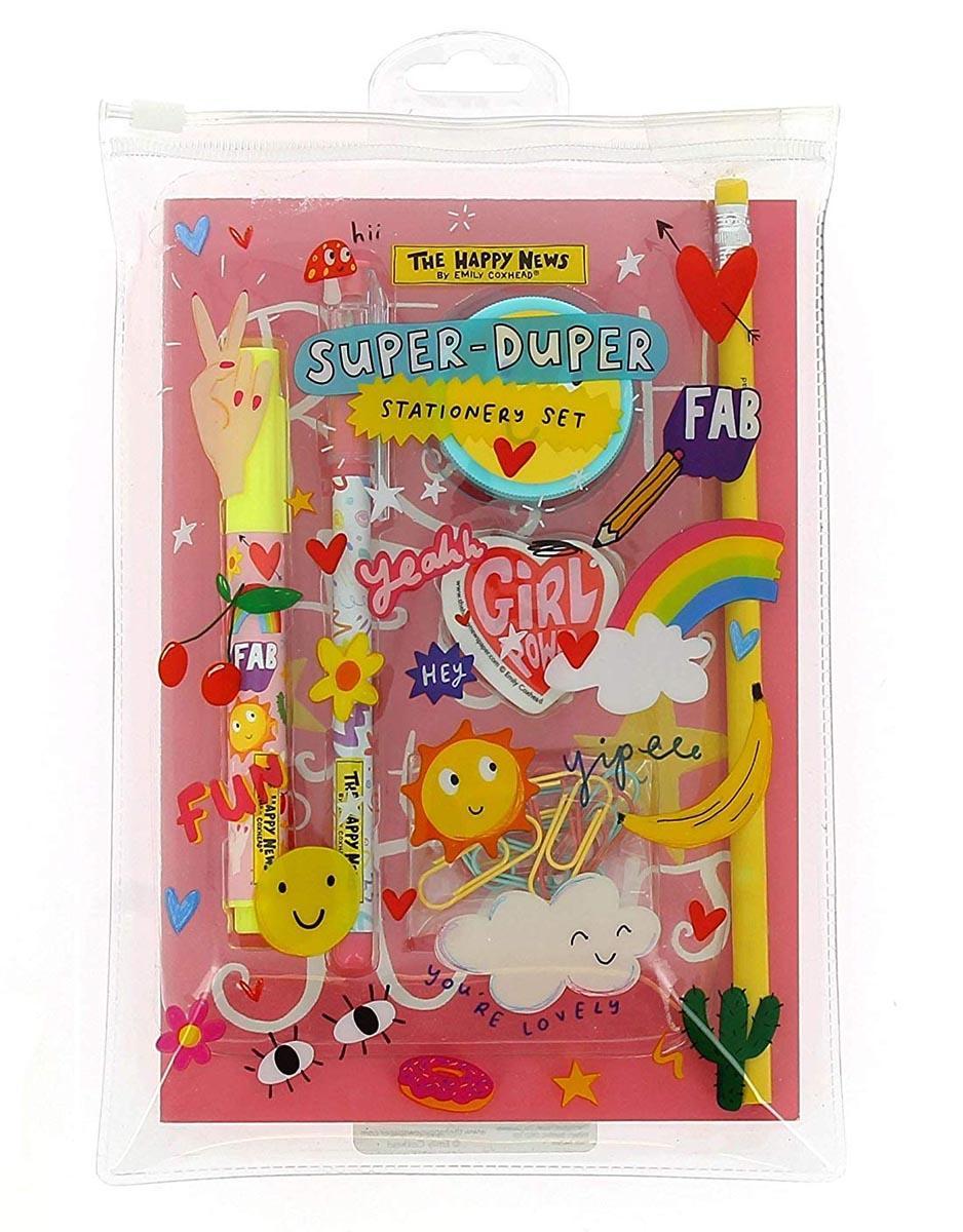 Školski set HAPPY NEWS Super Duper