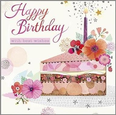 Čestitka PARTY CAKE
