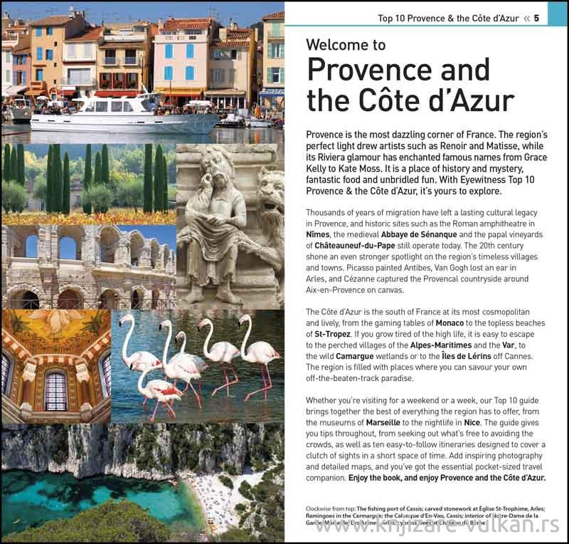 PROVENCE AND THE COTE DAZUR TOP 10