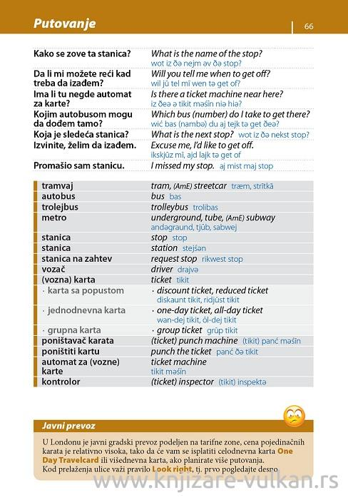 ENGLESKI priručnik za konverzaciju II izdanje