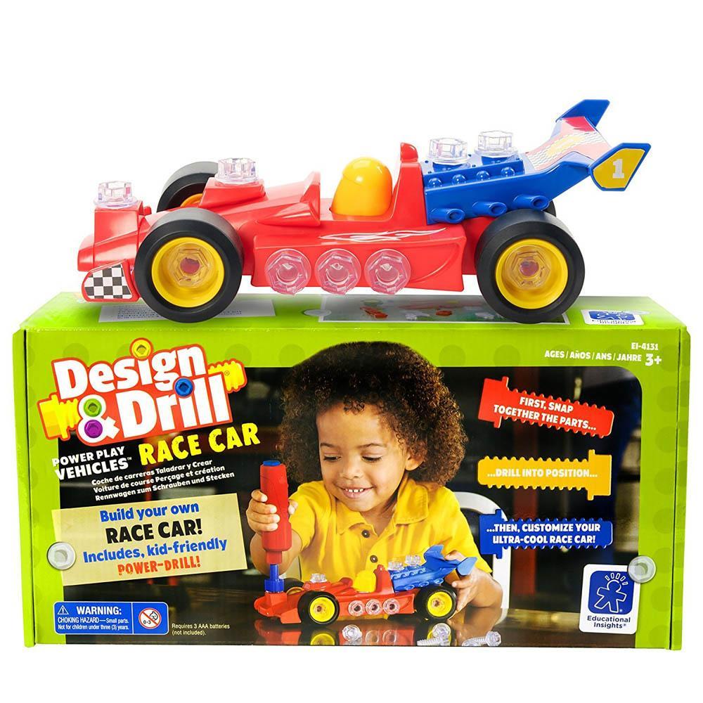 Igračka DESIGN DRILL POWER PLAY VEHICLES RACE CAR