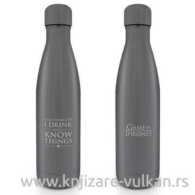 Flaša za vodu GAME OF THRONES I Drink And I Know Things
