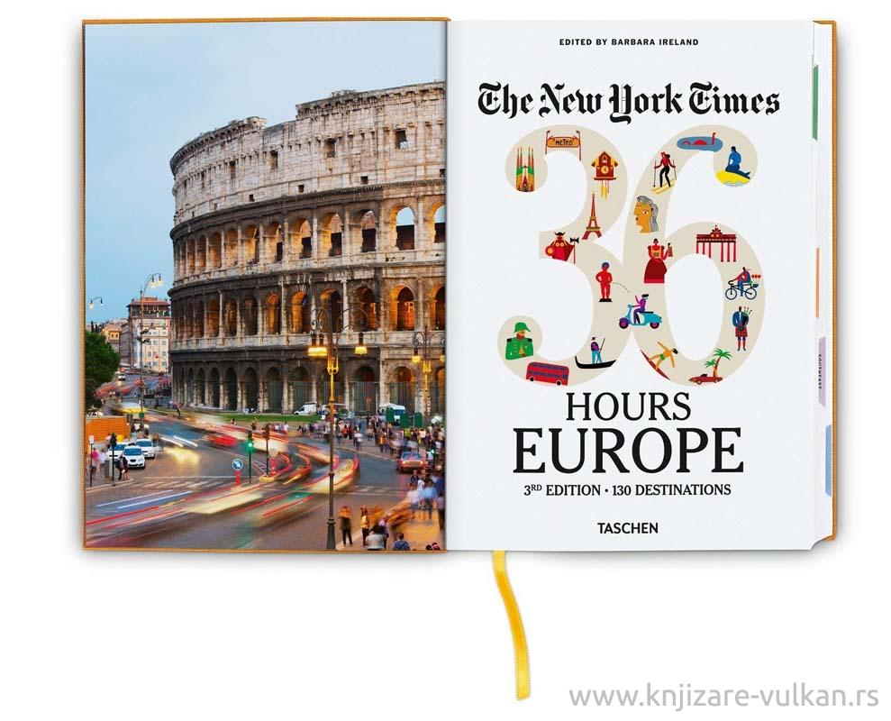 NYT 36 HOURS EUROPE