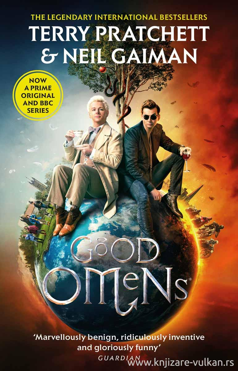 GOOD OMENS tv tie-in
