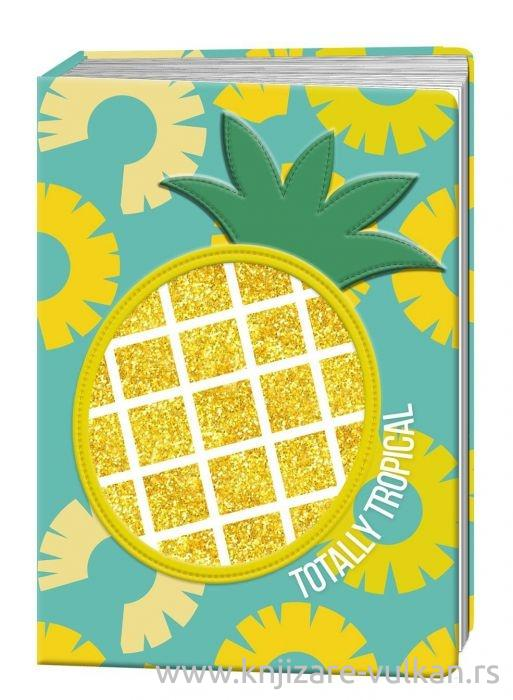 Notes A5 HAPPY ZOO Pineapple