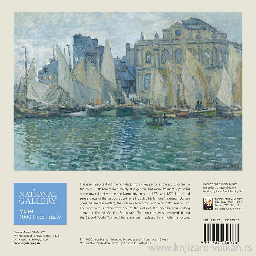 Puzzle NATIONAL GALERY Monet The Museum at Le Havre 1000